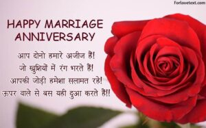Anniversary Wishes For Sister In Hindi