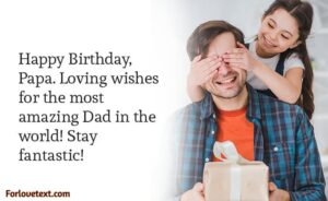Birthday Letter For Father